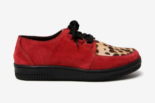 Marc Jacobs Suede and Leopard Print Sneaker