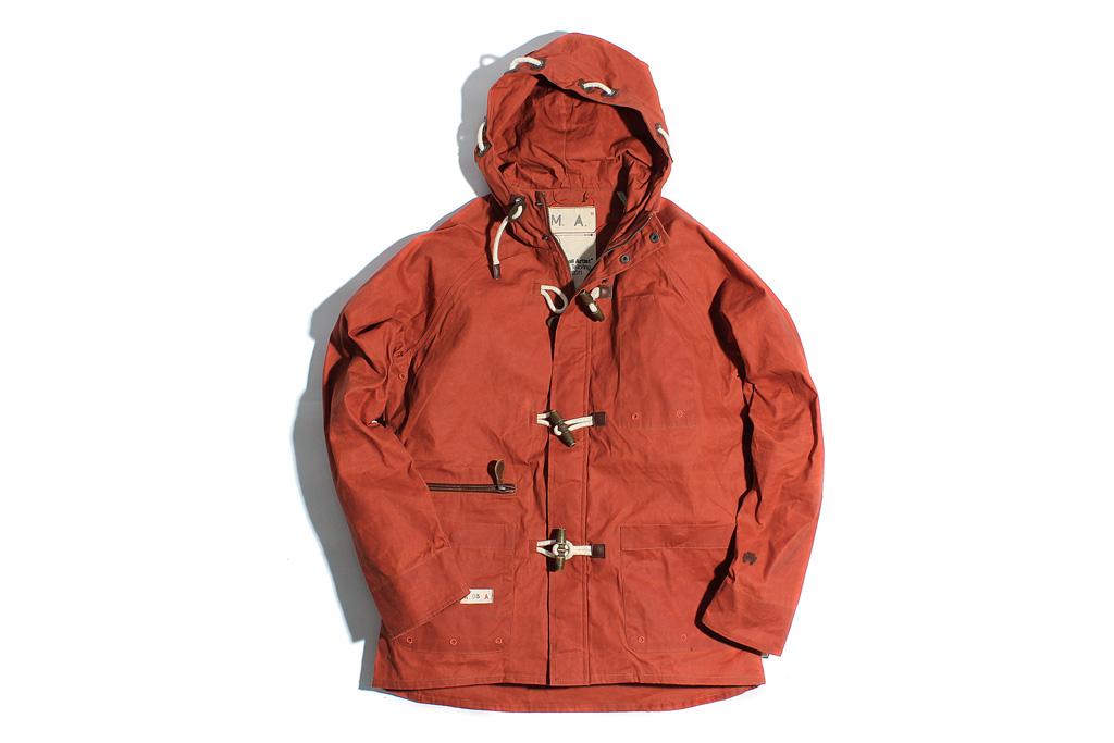 """Marshall Artist Nautical Jacket """"Burnt Orange"""""""