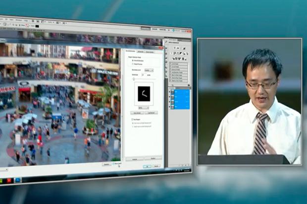 MAX 2011 Sneak Peek: Photoshop Image Deblurring