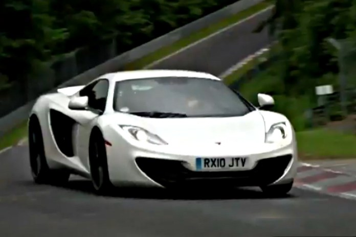 "McLaren MP4-12C ""Nürburgring"" Video"