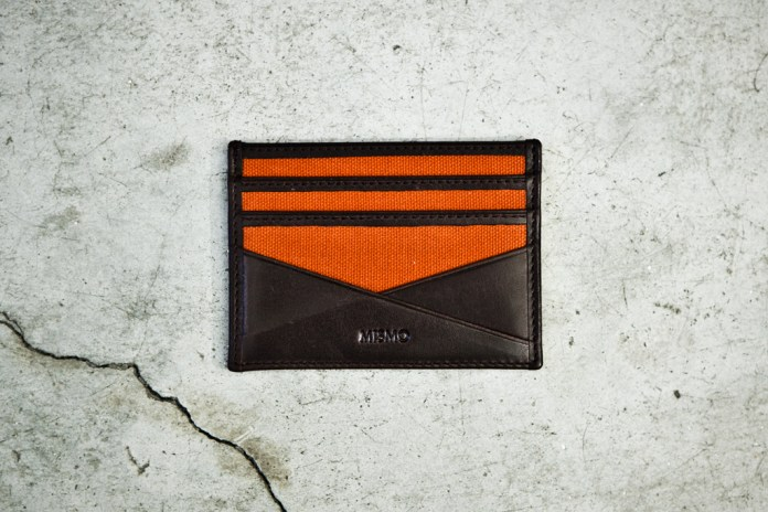 Mismo Leather Card Wallet