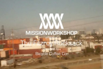 Mission Workshop: Bicycle Coffee Co. presents The Fitzroy Rucksack (Video)