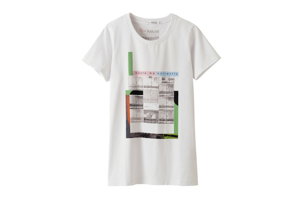 Moma x uniqlo message art now collection hypebeast for Uniqlo moma t shirt