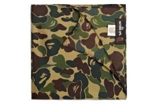 Mr. Bathing Ape Silk Camouflage Pocket Square