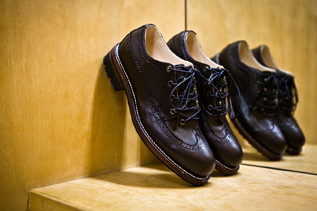 N.HOOLYWOOD 2011 Fall/Winter Leather Longwing