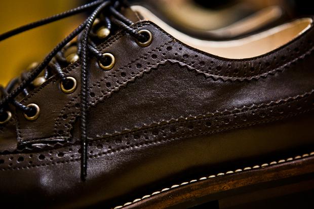 n hoolywood 2011 fallwinter leather longwing