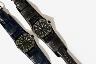 NEIGHBORHOOD x Hamilton Field Auto 40 Wrist Watch