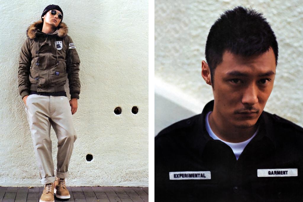 neighborhood x izzue nhiz editorial featuring shawn yue