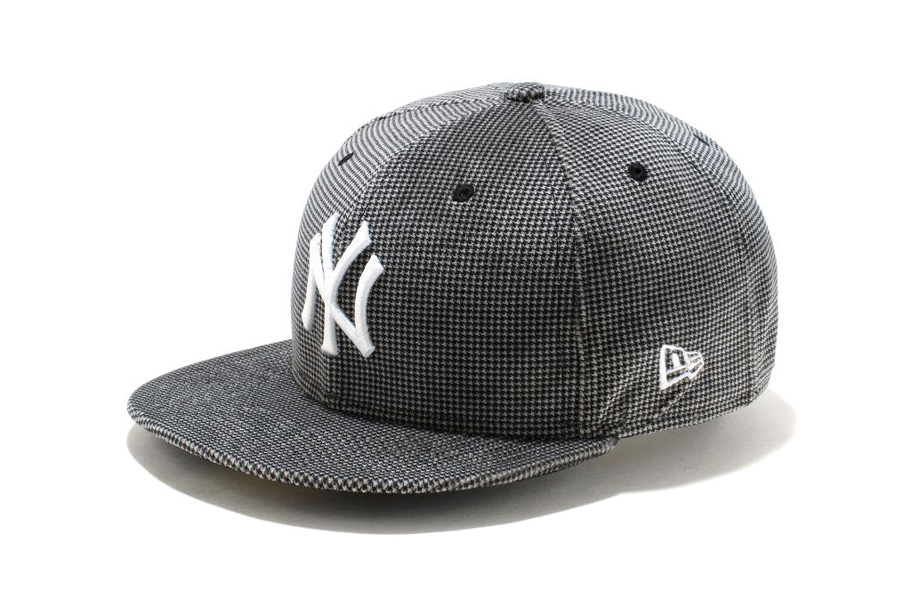 new era 59fifty houndstooth fitted cap