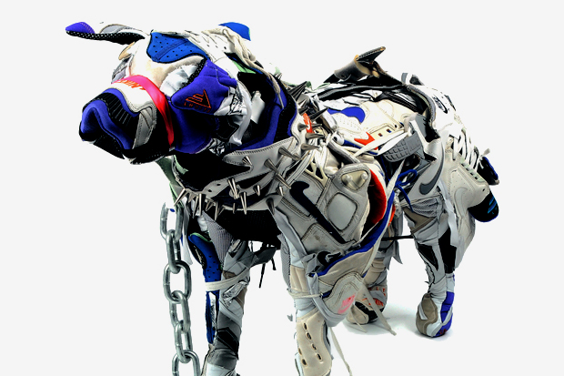 Nike Dog by Vinti Andrews