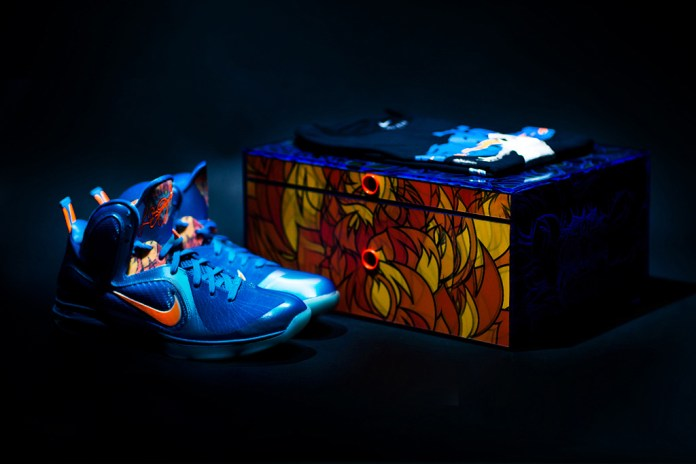 "Nike LeBron 9 China Edition ""Blue Flame"""