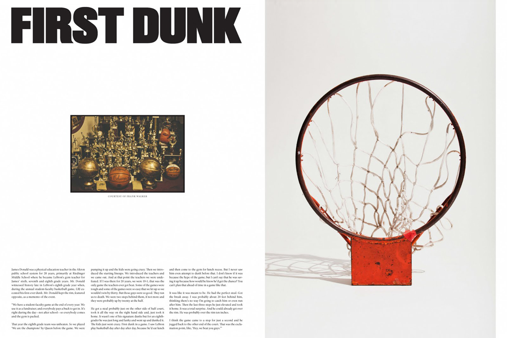 nike presents first dunk a story about lebron james