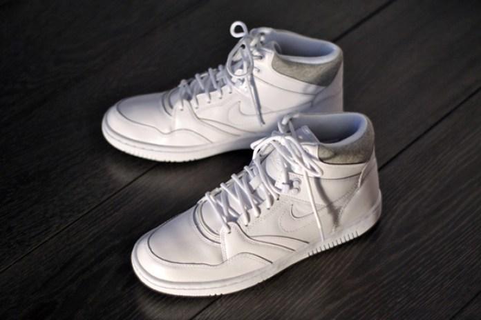 Nike Sky Force 88 White/Heather Grey
