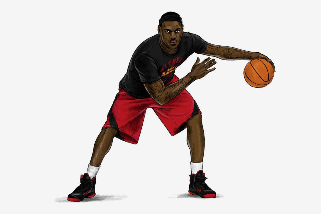 Nike Sportswear LeBron James Signature Collection Illustrated