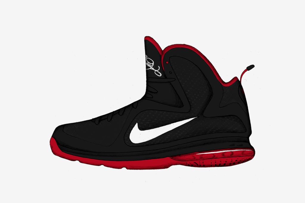 Nike Sportswear LeBron James Signature Collection Illustrated