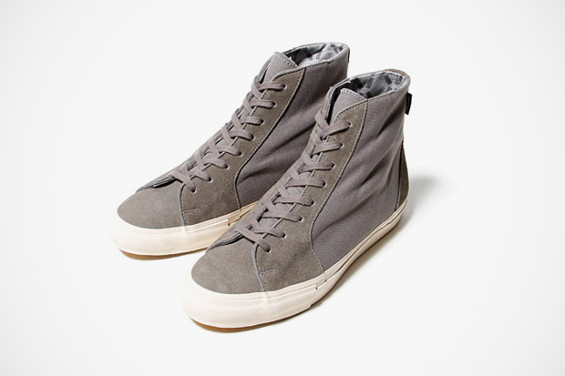 nonnative wanderer COW LEATHER TRAINER WITH GORE-TEX 2L