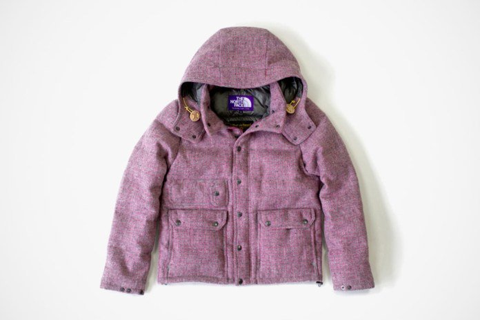 Harris Tweed x THE NORTH FACE PURPLE LABEL 2011 Winter Collection