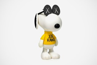 "OriginalFake x Peanuts ""JOE KAWS"" Snoopy Preview"