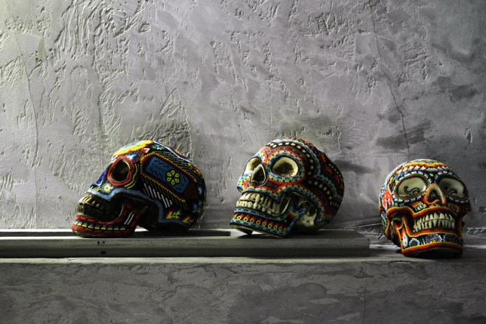 Our Exquisite Corpse Skulls by Catherine Martin