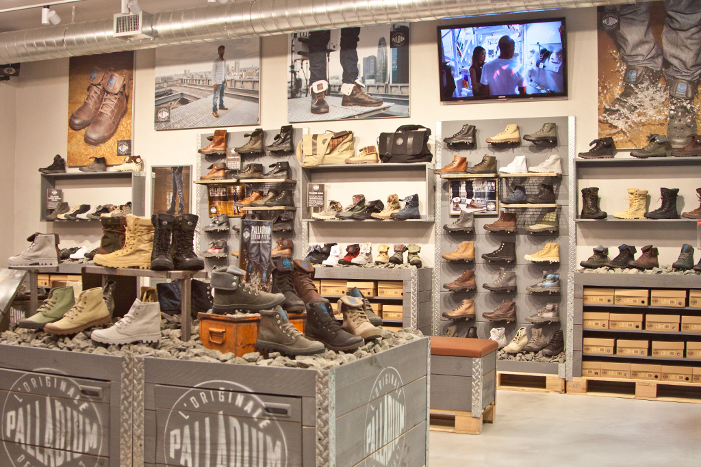 Palladium U.S. Flagship Store Openings