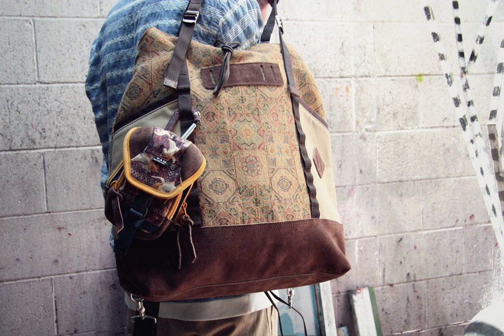 PAM x master-piece 2011 Fall/Winter Bags