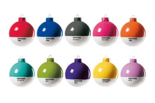 Pantone Christmas Ornaments