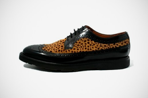 Paul Smith Leopard Long Wingtip