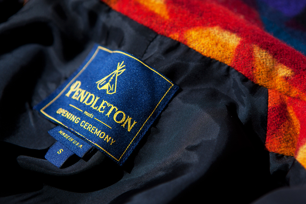 Pendleton Meets Opening Ceremony 2011 Fall/Winter Collection