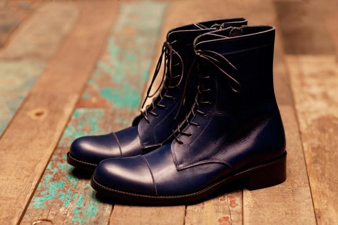 PHENOMENON Leather Cap Toe Boot
