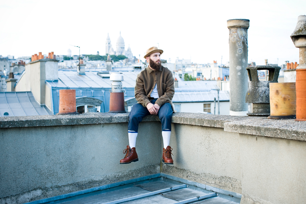 Pigalle & colette x MERRELL WILDERNESS Lookbook