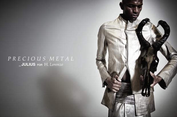 precious metal_julius for h lorenzo pop up shop