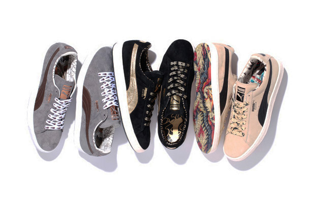 """PUMA """"The List"""" Suede Classic Italy Pack"""