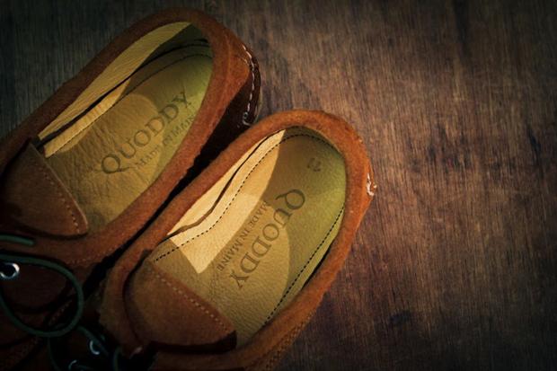 Quoddy Blucher Cognac Suede - Goodhood Exclusive