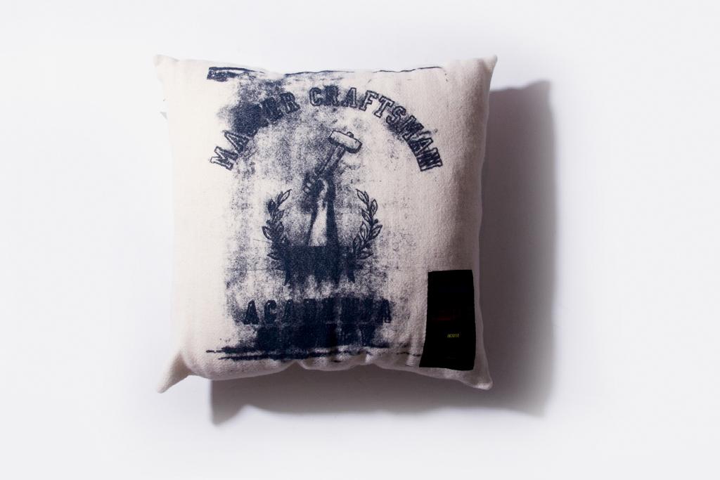 "Raf Simons House ""Master Craftsman"" Cushion"