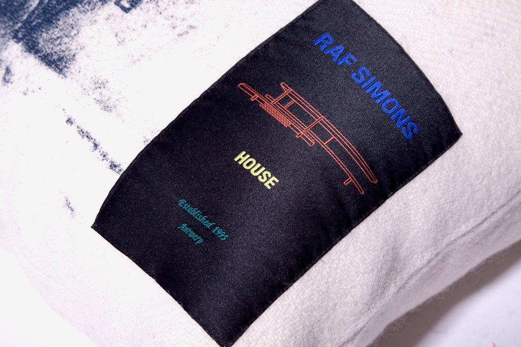 "Raf Simons House ""Master Craftsman"" Cushion"