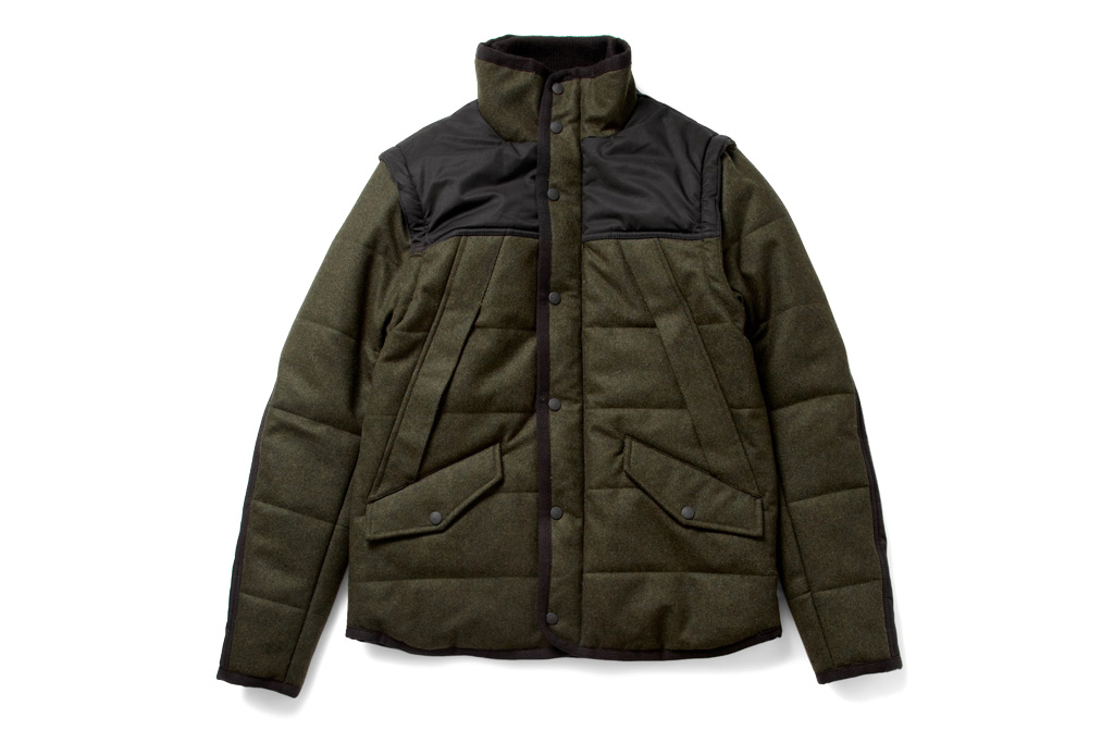 rag bone heavyweight padded jacket