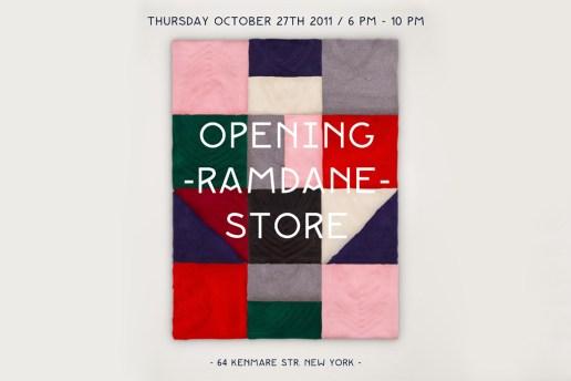 Ramdane Store Opening NY
