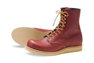 """Red Wing 8"""" Round-Toe Boot Europe Exclusive"""