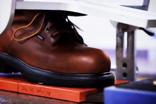 "Red Wing Shoes ""Product Testing"" Video"