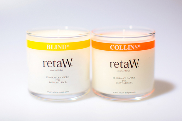 retaW FRAGRANCE CANDLE BLIND* & COLLINS*