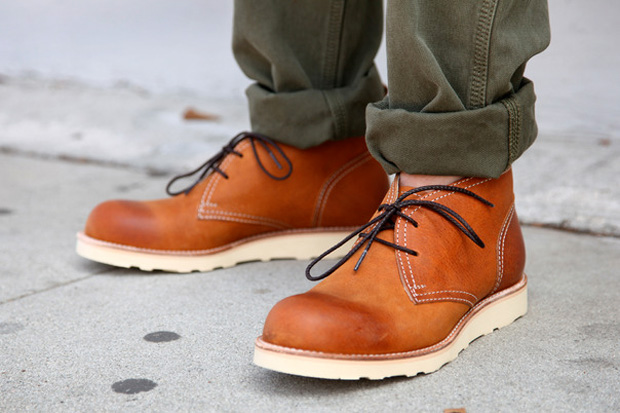 Roberu Ground Leather Chukka Boot