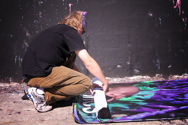 ron english barracuda wall mural