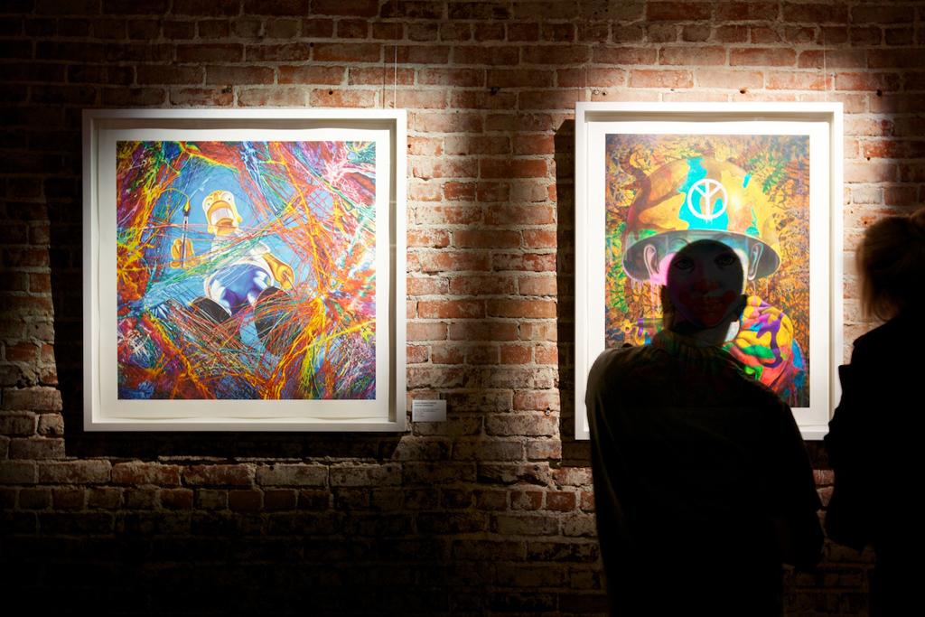 "Ron English ""English 101"" Exhibition @ POST NO BILLS Recap"
