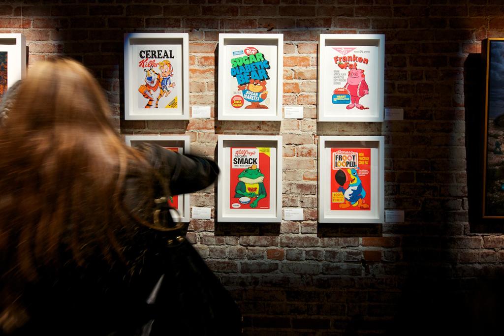 ron english english 101 exhibition post no bills recap