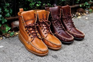 Ronnie Fieg for Sebago 2011 Fall/Winter Seneca Boots