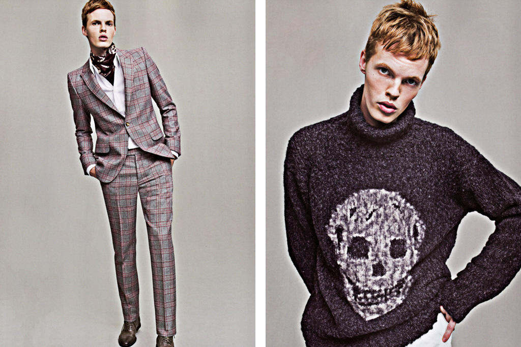 sense magazine alexander mcqueen 2011 fallwinter collection editorial