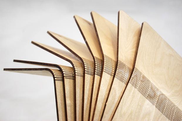 SNIJLAB Wooden Notebooks