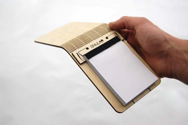 SNIJLAB Wooden Notebooks