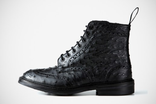 SOPHNET. x Tricker's Wingtip Boots - SOPH.HANKYU MEN'S TOKYO Exclusive
