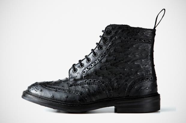 sophnet x trickers wingtip boots soph hankyu mens tokyo exclusive
